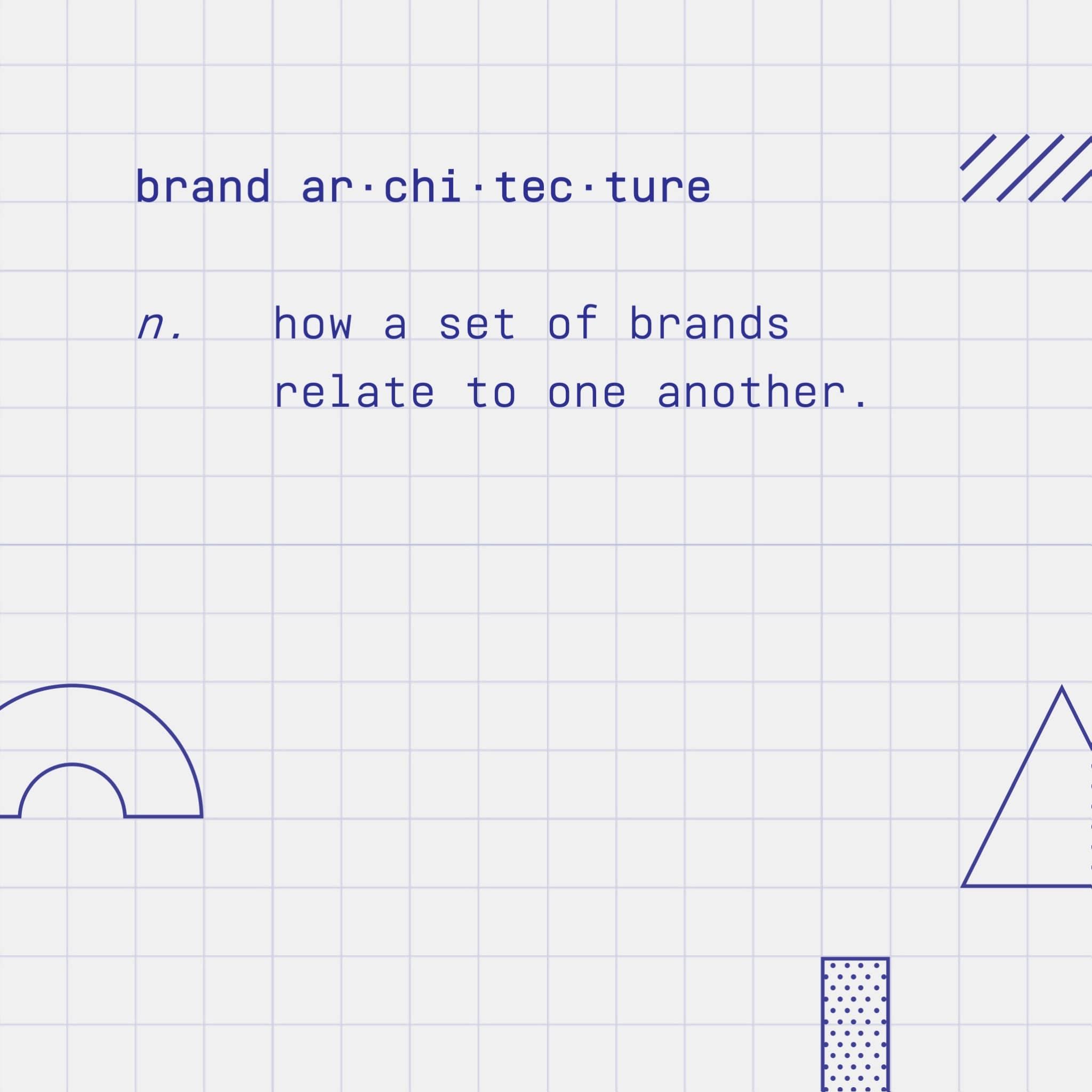 Brand architecture definition