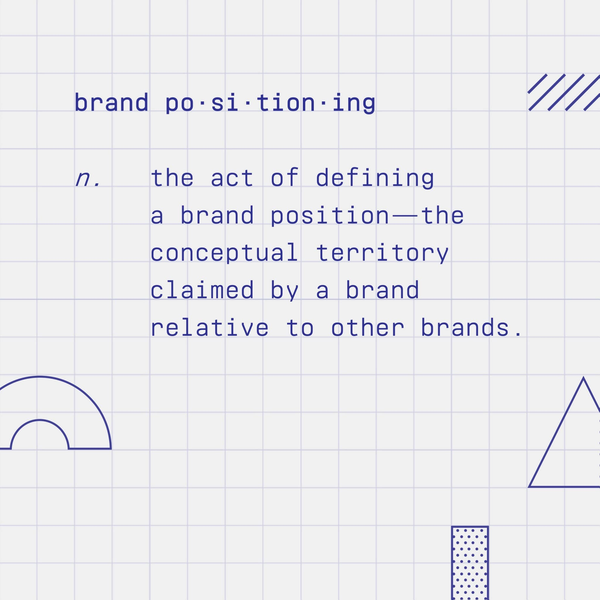 Brand positioning definition
