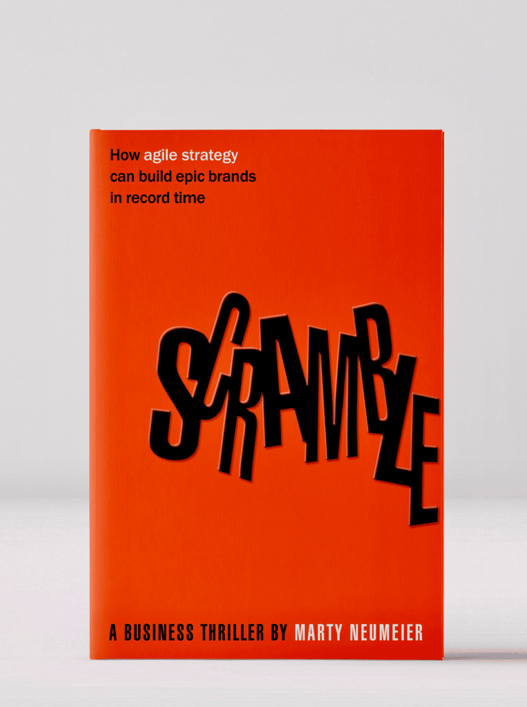 Scramble, by Marty Neumeier