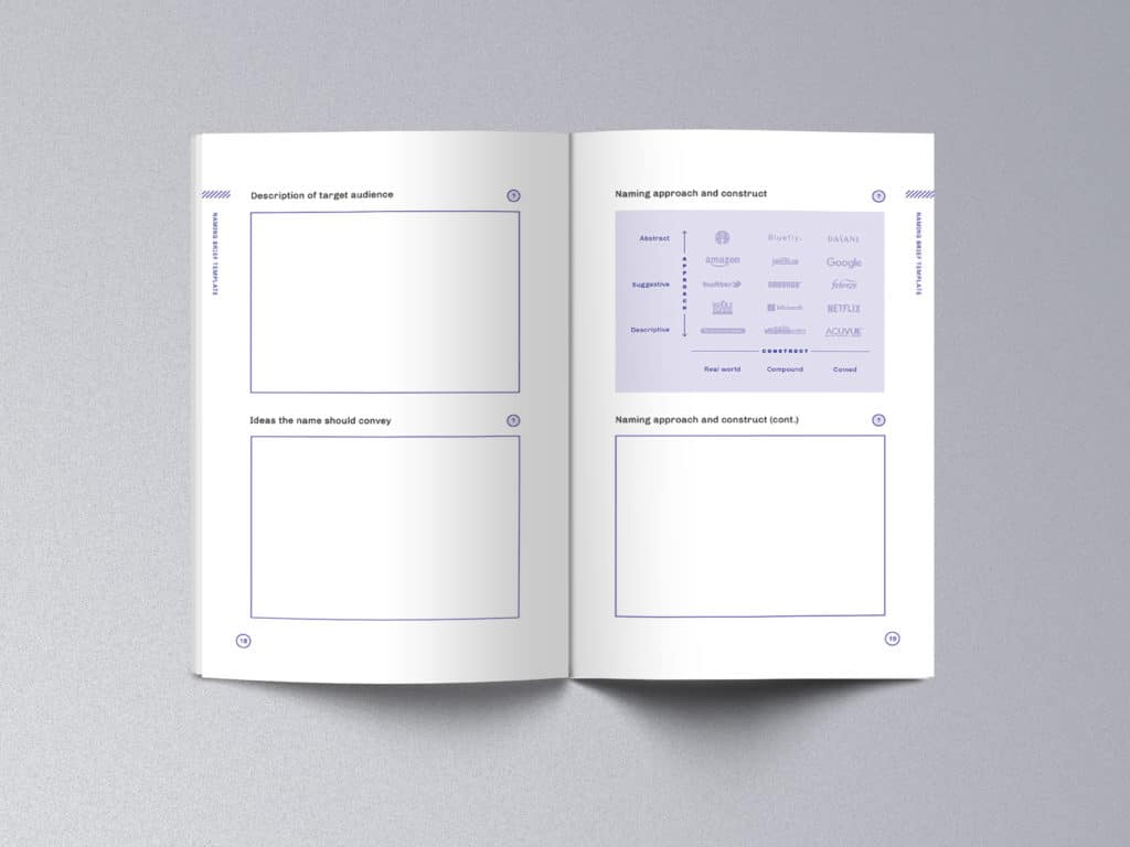 How to Write a Naming Brief ebook template