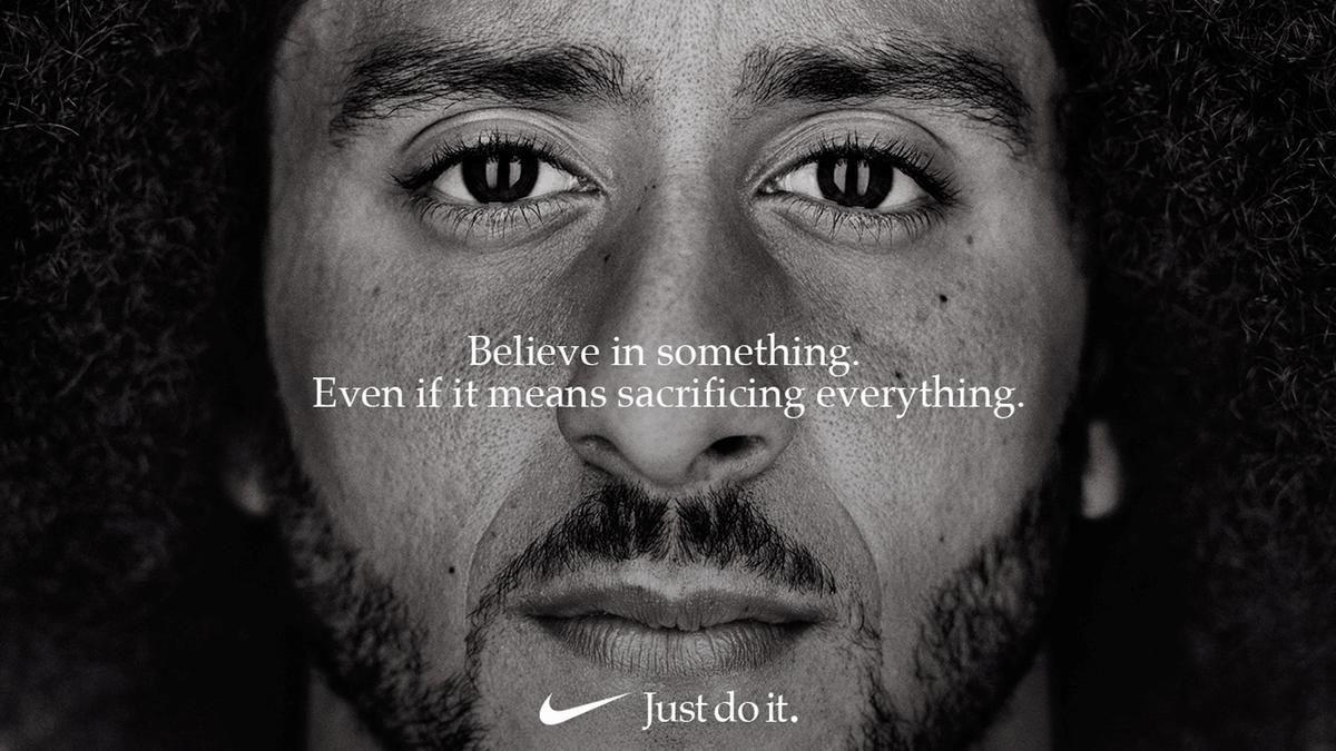 Kaepernick Nike ad