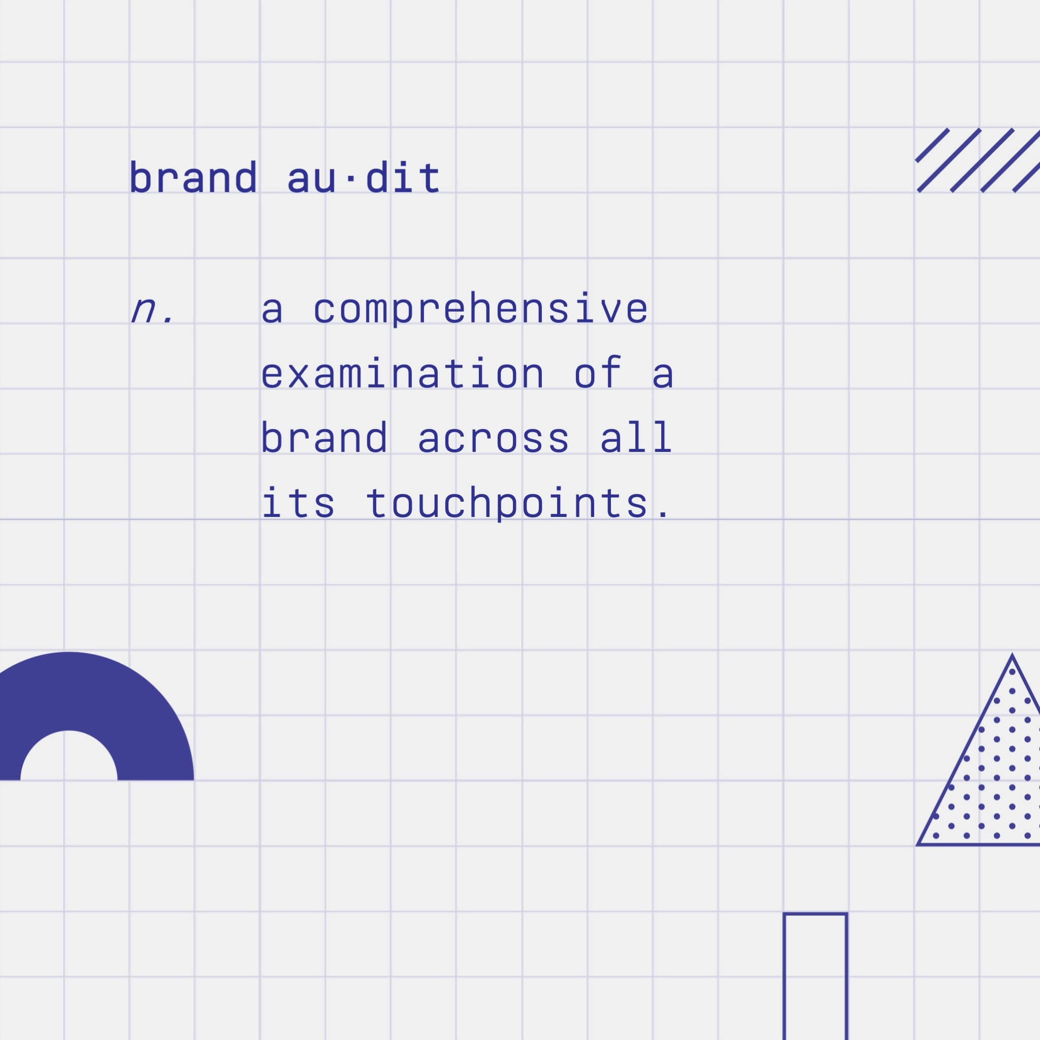 Brand audit definition