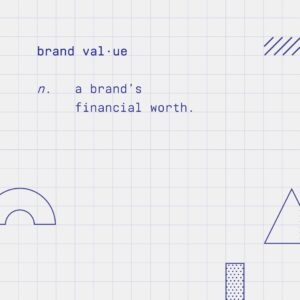 Definition of brand value