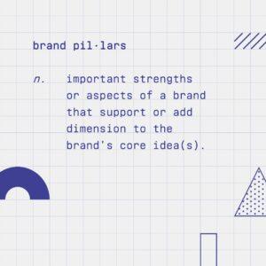 Definition of brand pillars