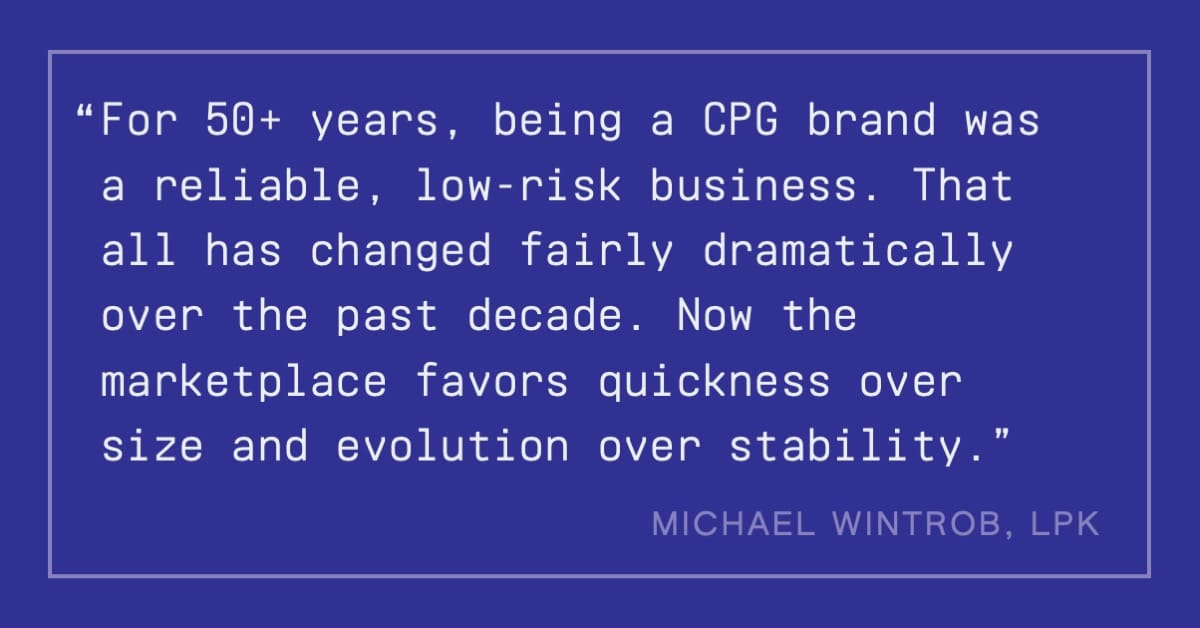 Michael Wintrob quote on How Brands Are Built