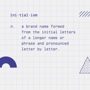 Initialism definition