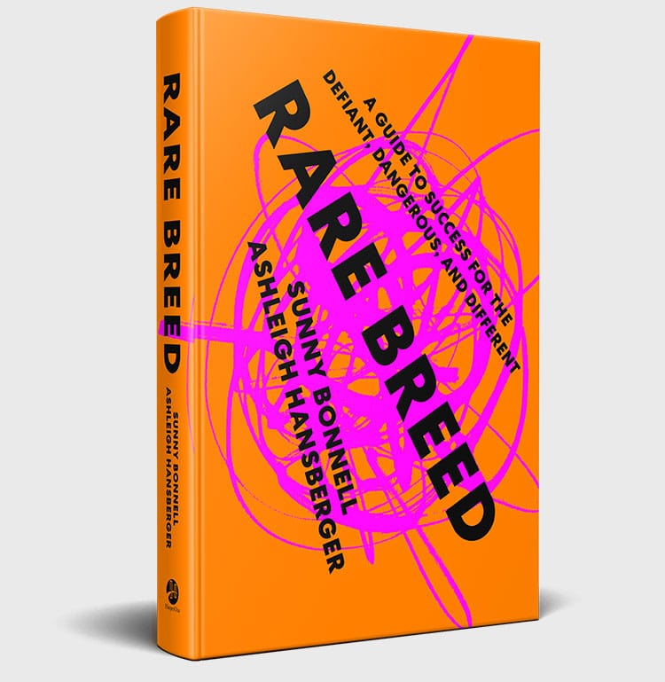 Sunny Bonnell and Ashleigh Hansberger's book, Rare Breed