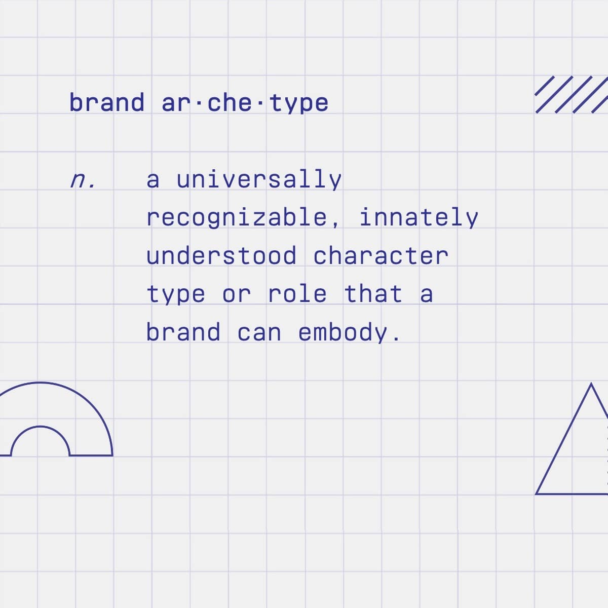 Brand archetype definition