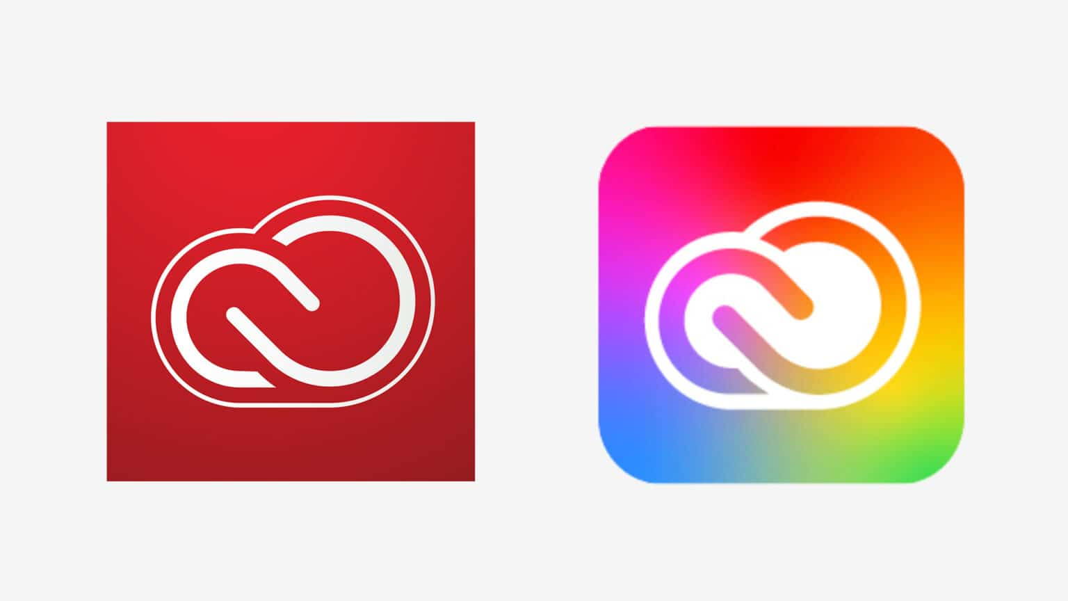 Adobe cloud icon redesign