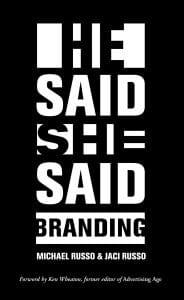 He Said, She Said: Branding, a top branding book for 2020/2021
