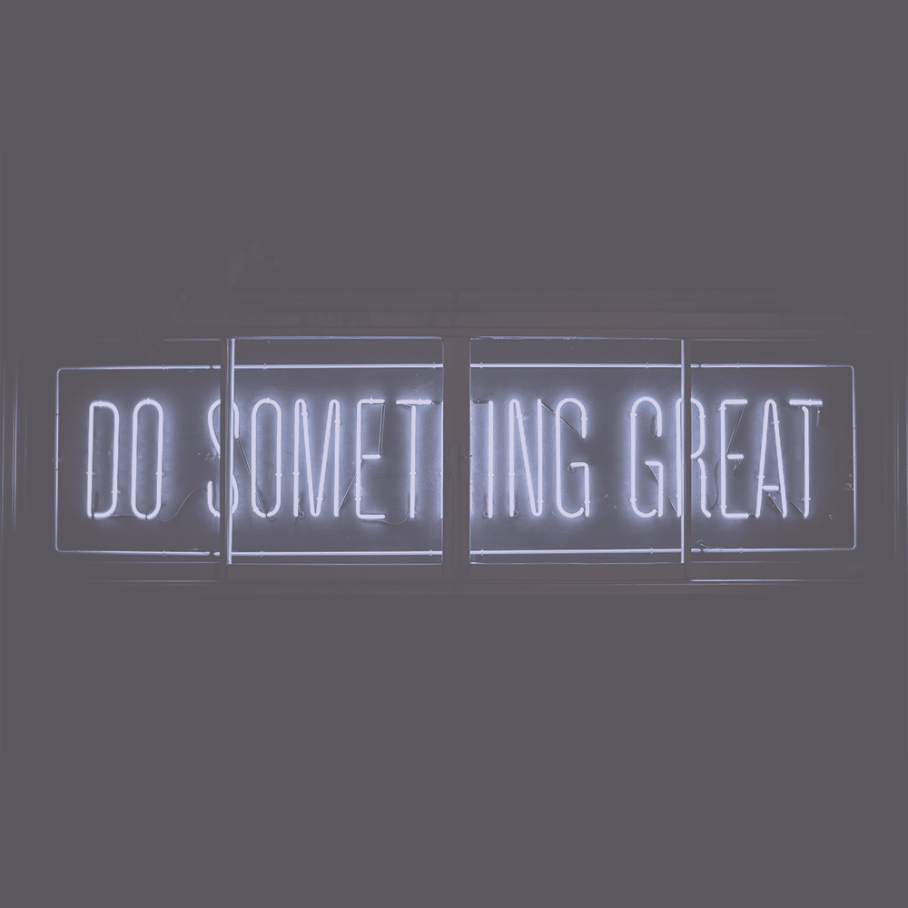 Do something great - brand voice